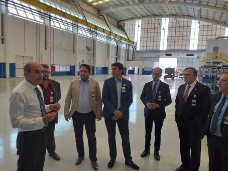 Prefeito Roberto Naves e comitiva buscam novos investimentos para Anápolis no interior de SP