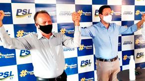 Convenção do PSL confirmará Valeriano Abreu e Fenando Dutra