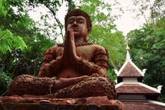 Le Wat Palad, perdu dans la fortêt