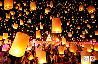 CAD Countdown Festival 2018 Sky Lantern Launch Chiang Mai