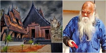 Chiang Rai - Black House - Montage.JPG