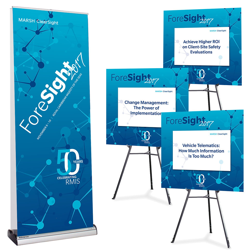 identity signage and session signs
