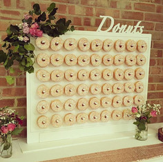 Love my donut wall! Available to hire wi