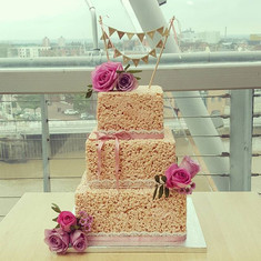 Wedding cake with a difference_ Rice Kri