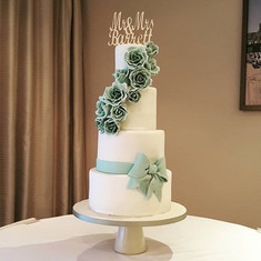One of yeatetdays wedding cakes. Its the