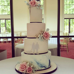 One of the weekends wedding cakes, deliv