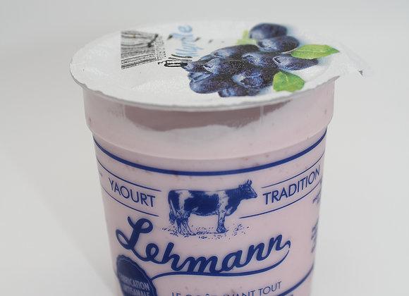 Yaourt fruits Myrtille Lehmann