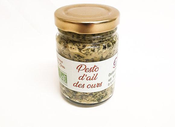 Pesto à l'ail des ours bio