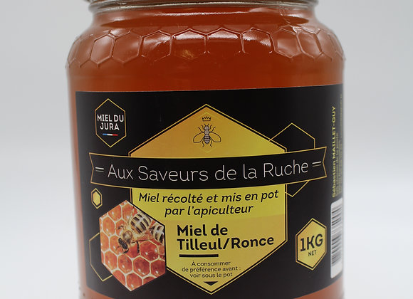 Miel tilleul-ronce 1kg
