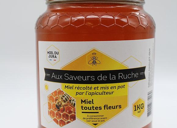 Miel toutes fleurs 1 kg