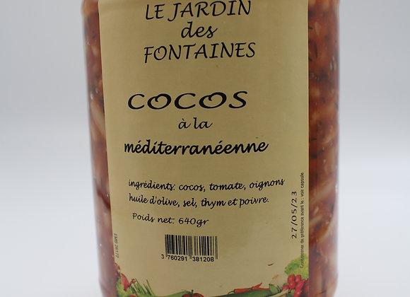 Cocos à la méditerranéenne