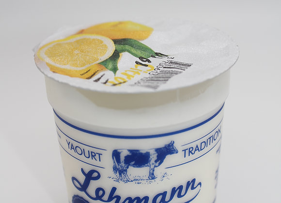 Yaourt fruits Citron Lehmann