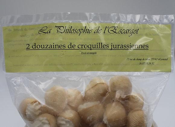 2 Dz Croquilles d'escargots  jurassiennes
