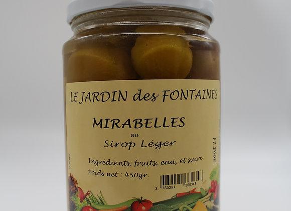 Fruits au sirop Mirabelle