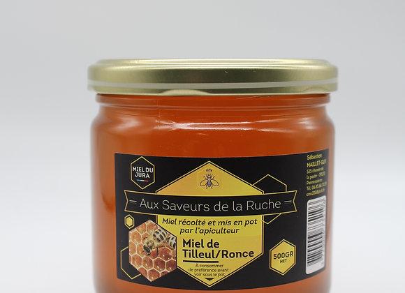 Miel tilleul-ronce 500 gr