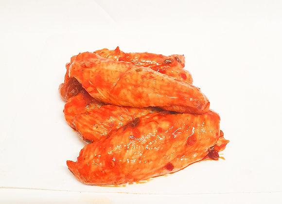 Aile de poulet marinée