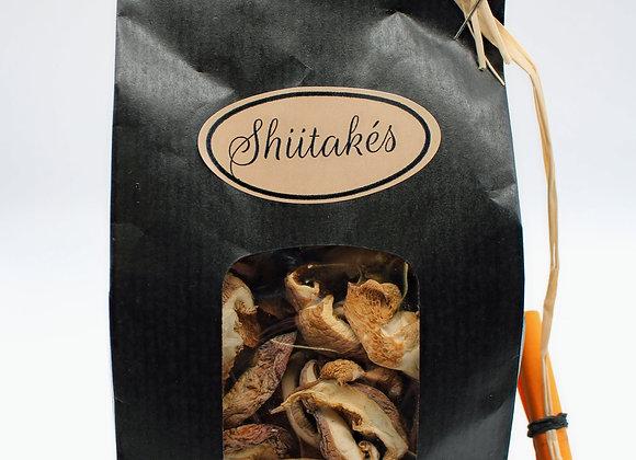 Shiitakés séchés bio 50 gr