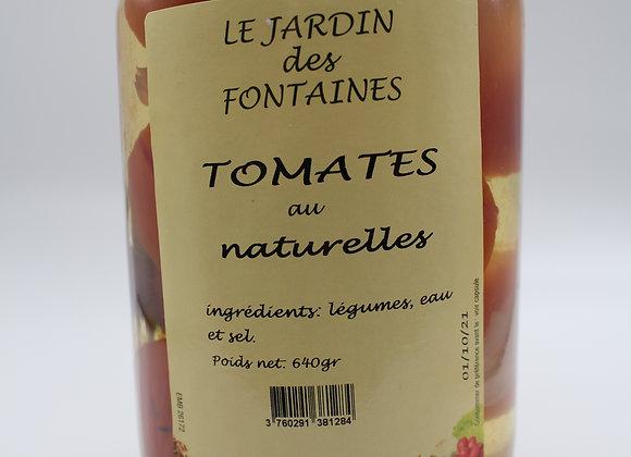 Tomates au naturel