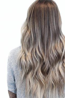 balayage + IBE hair extensions | spartanburg sc