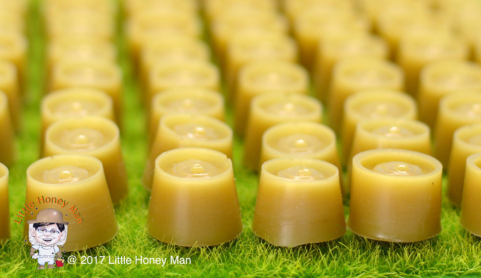 100% Natural Unbleached Raw Beeswax