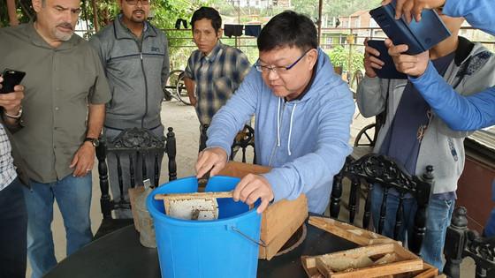 Beekeeping In Nepal.