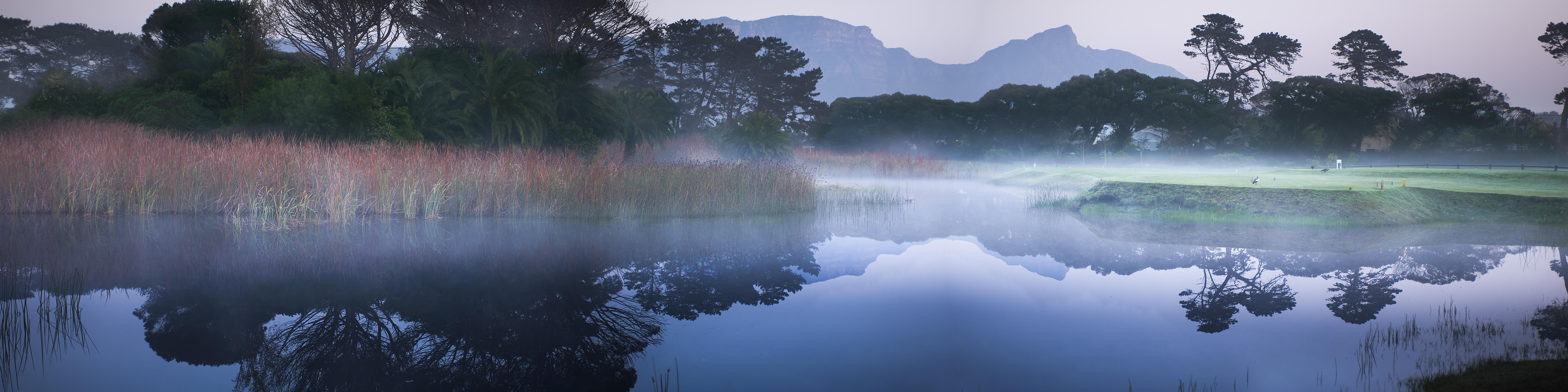 Early mornings at Royal Cape.