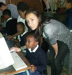 volunteer work, Africa