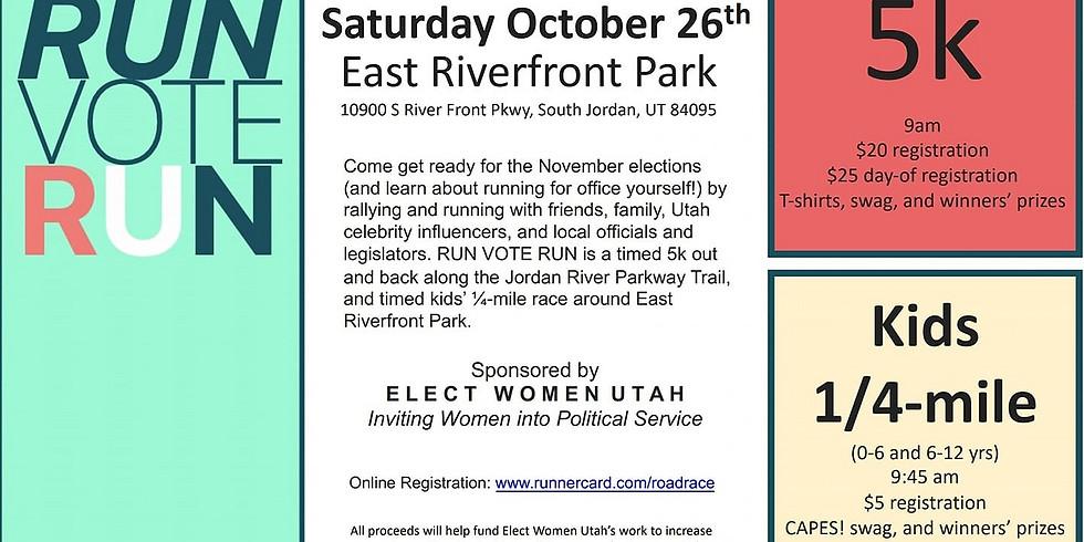 Run Vote Run by Elect Women Utah
