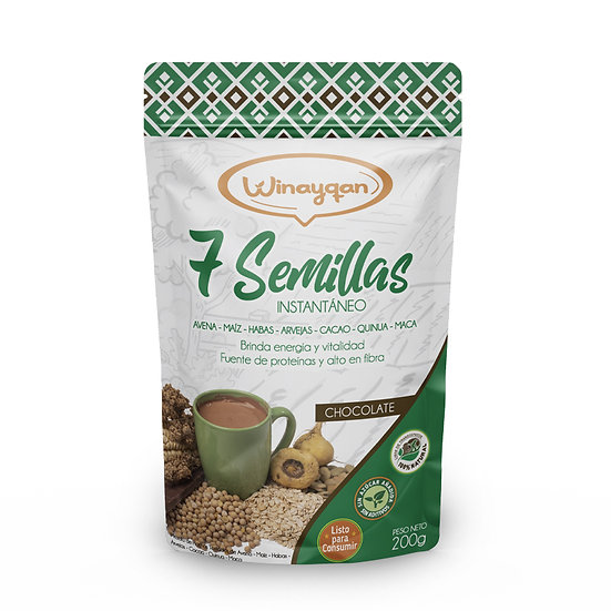 7 Semillas Chocolate 200g