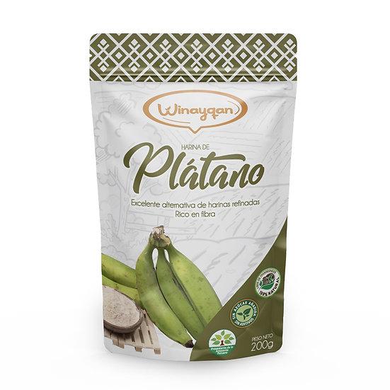 Harina de Plátano 200g