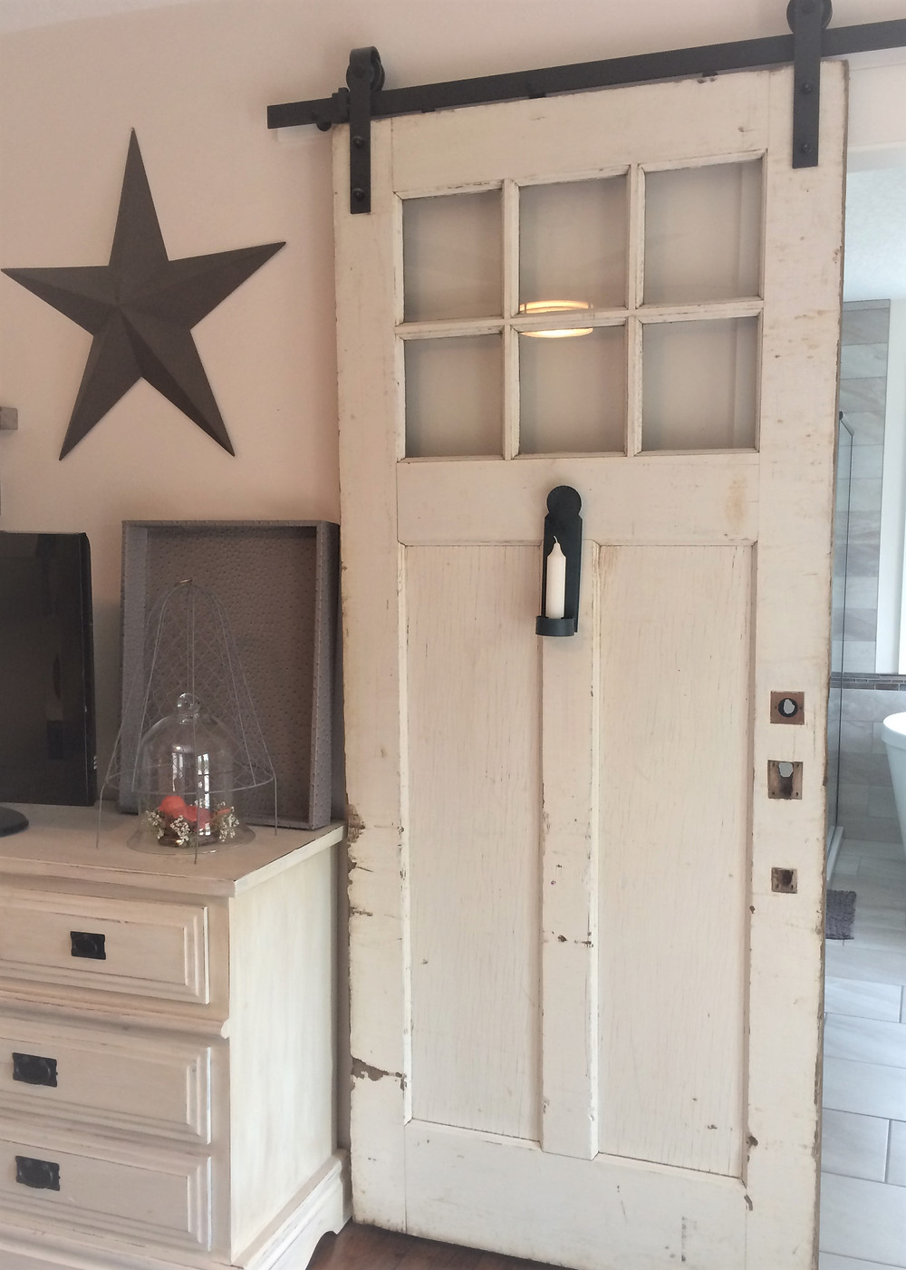 vintage sliding door