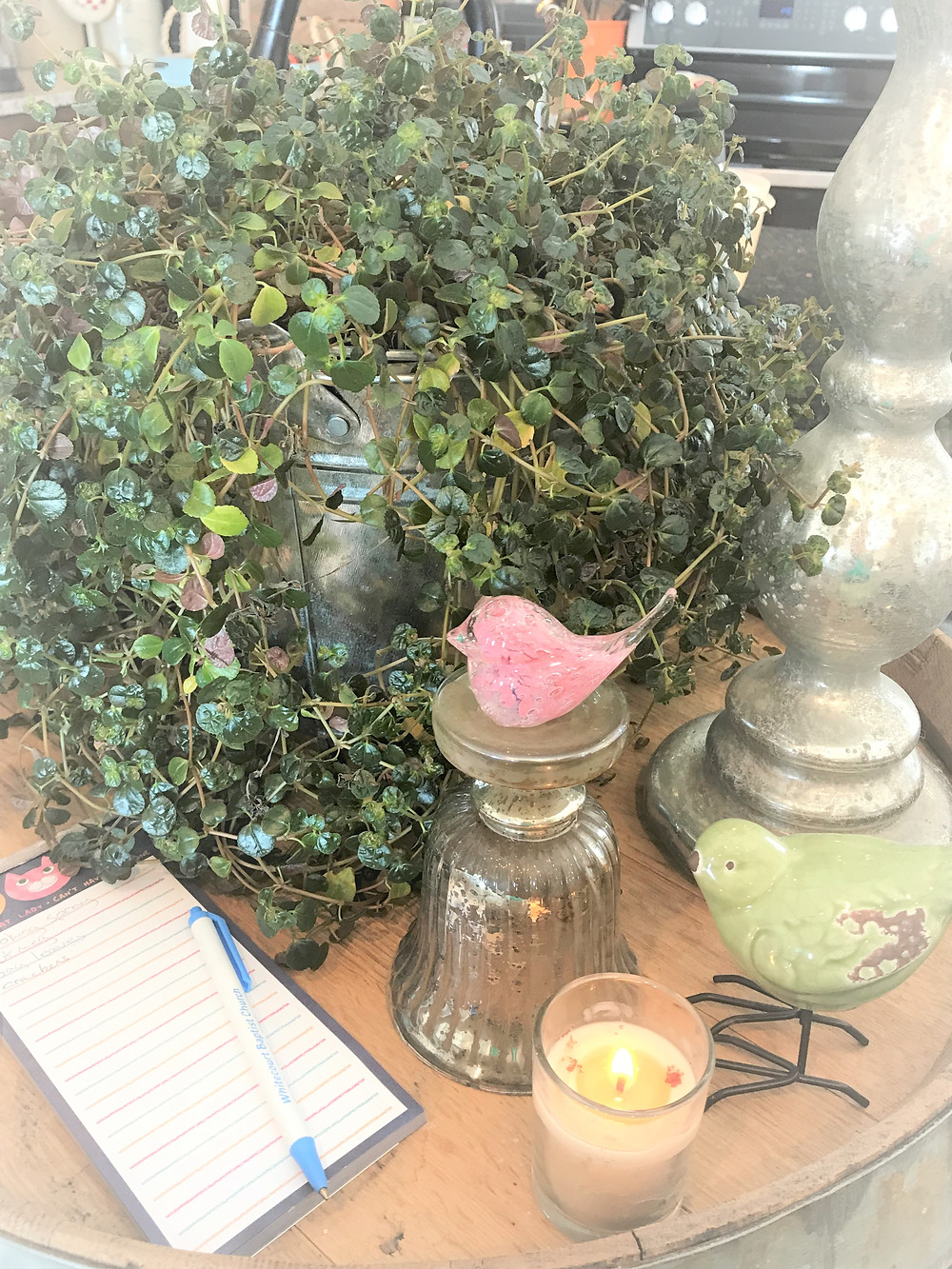 Add plants to create spring Hygge