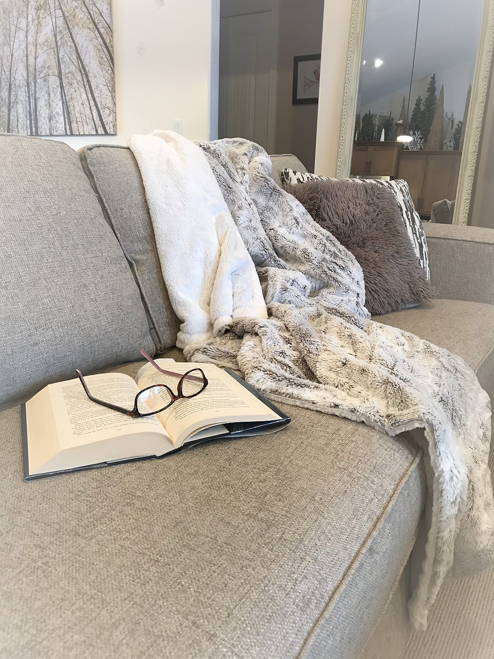 luxurious throw blanket