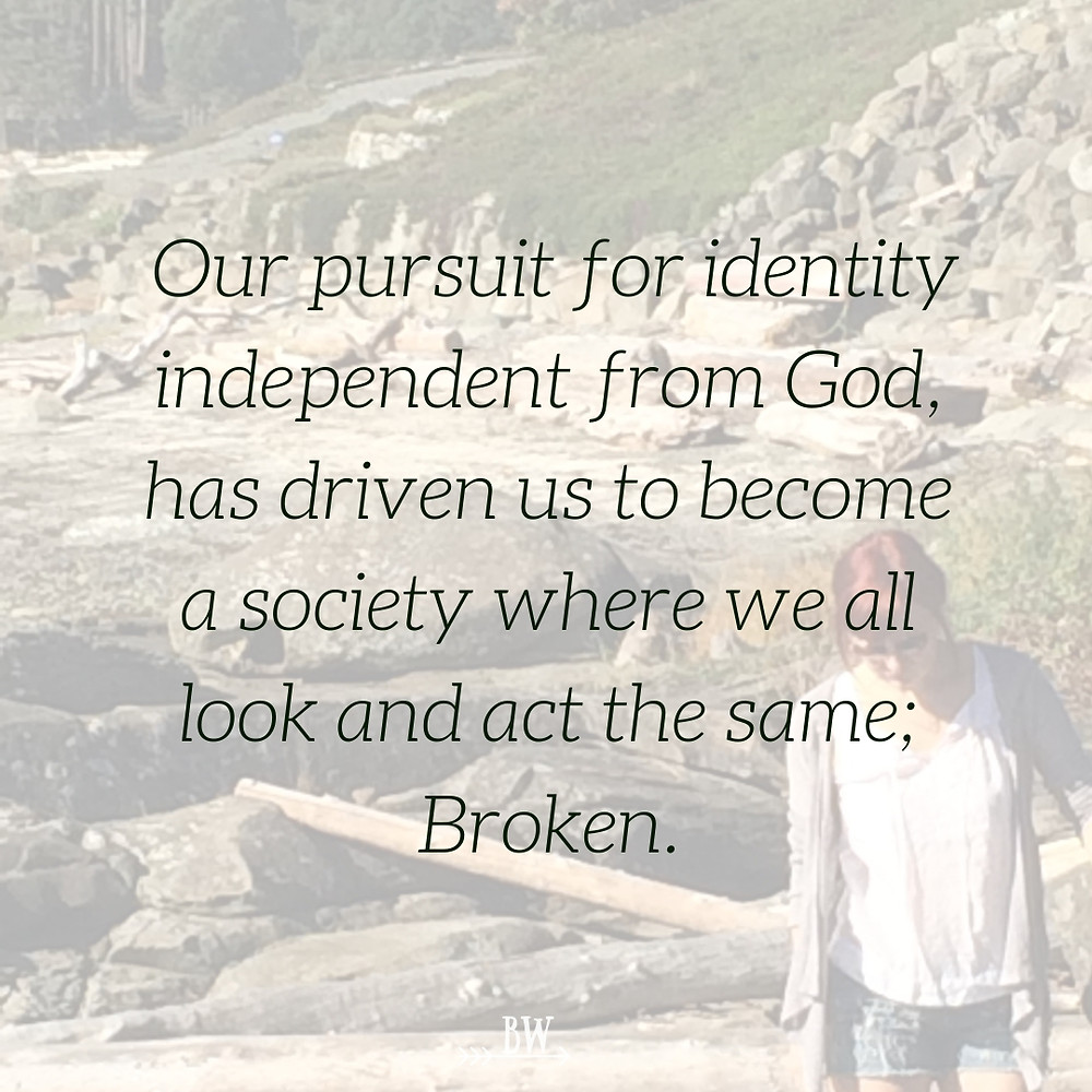 Apart from God, we are broken.