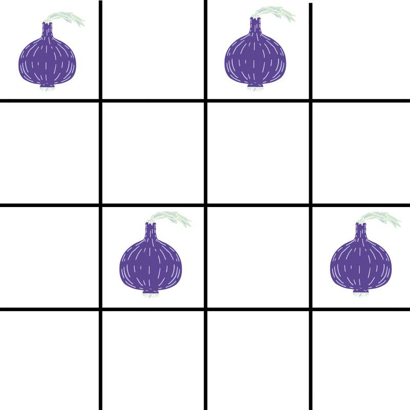 2x2 wire mesh gardening/onions