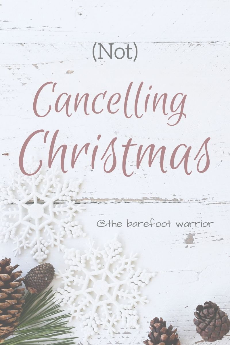 (Not) Cancelling Christmas