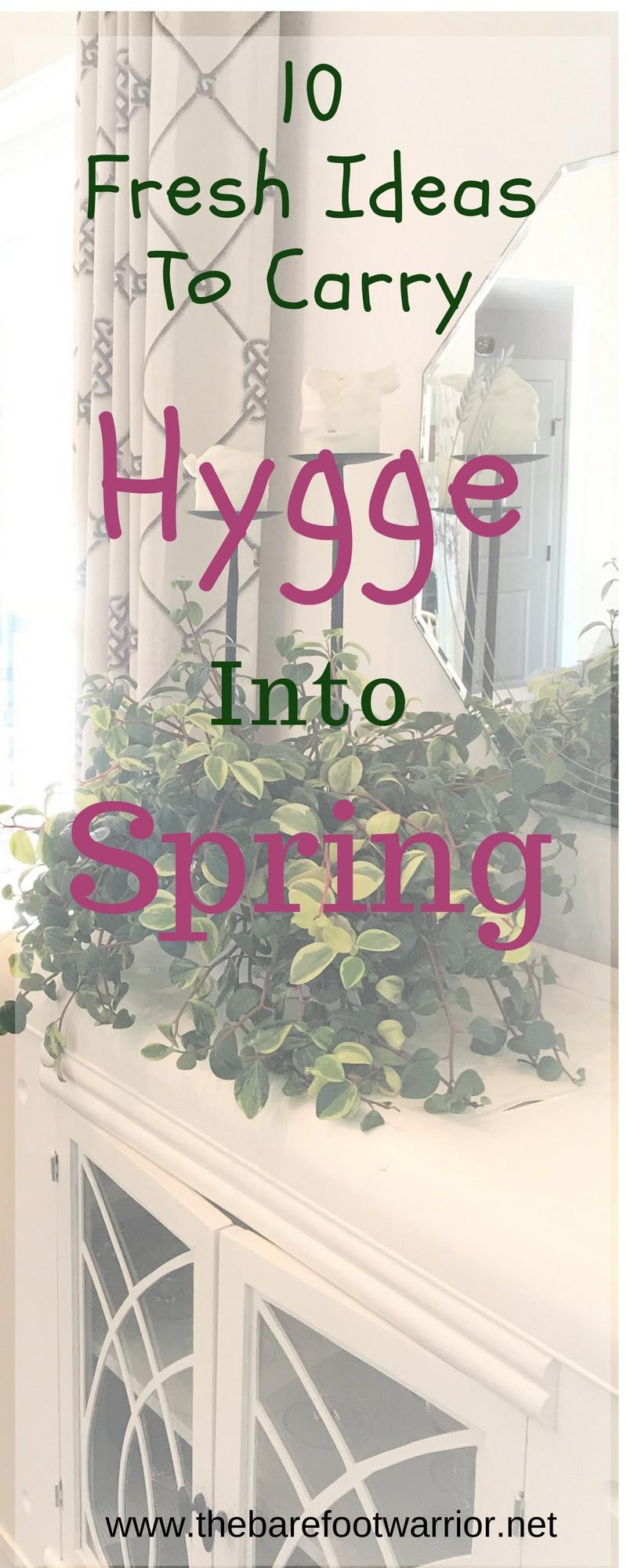 Spring hygge, 10 fresh ideas