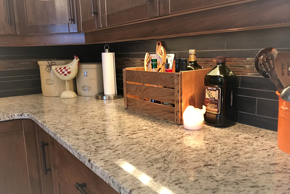 Hygge kitchen counters