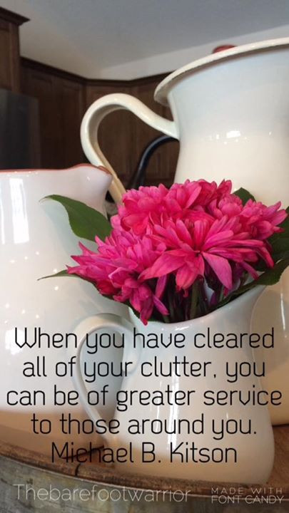 Clear you clutter