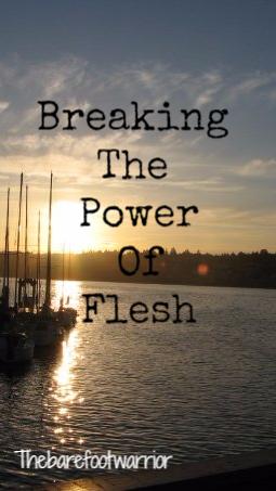 Breaking the power of flesh