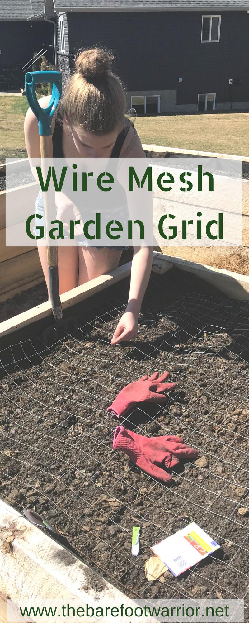 Wire Mesh Garden Grid
