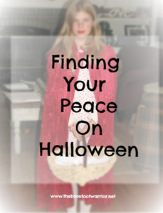 finding your peace on Halloween
