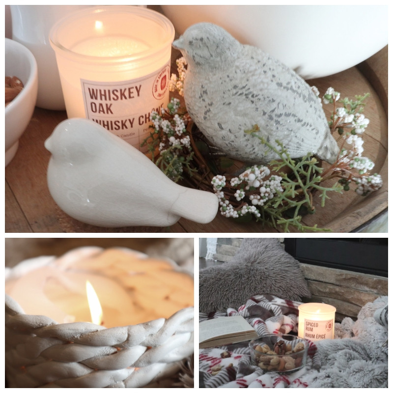 hygge candle light