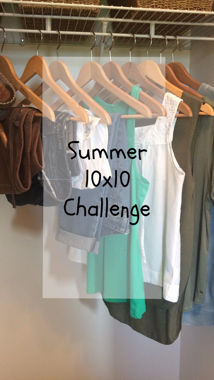 Summer 10x10 Challenge