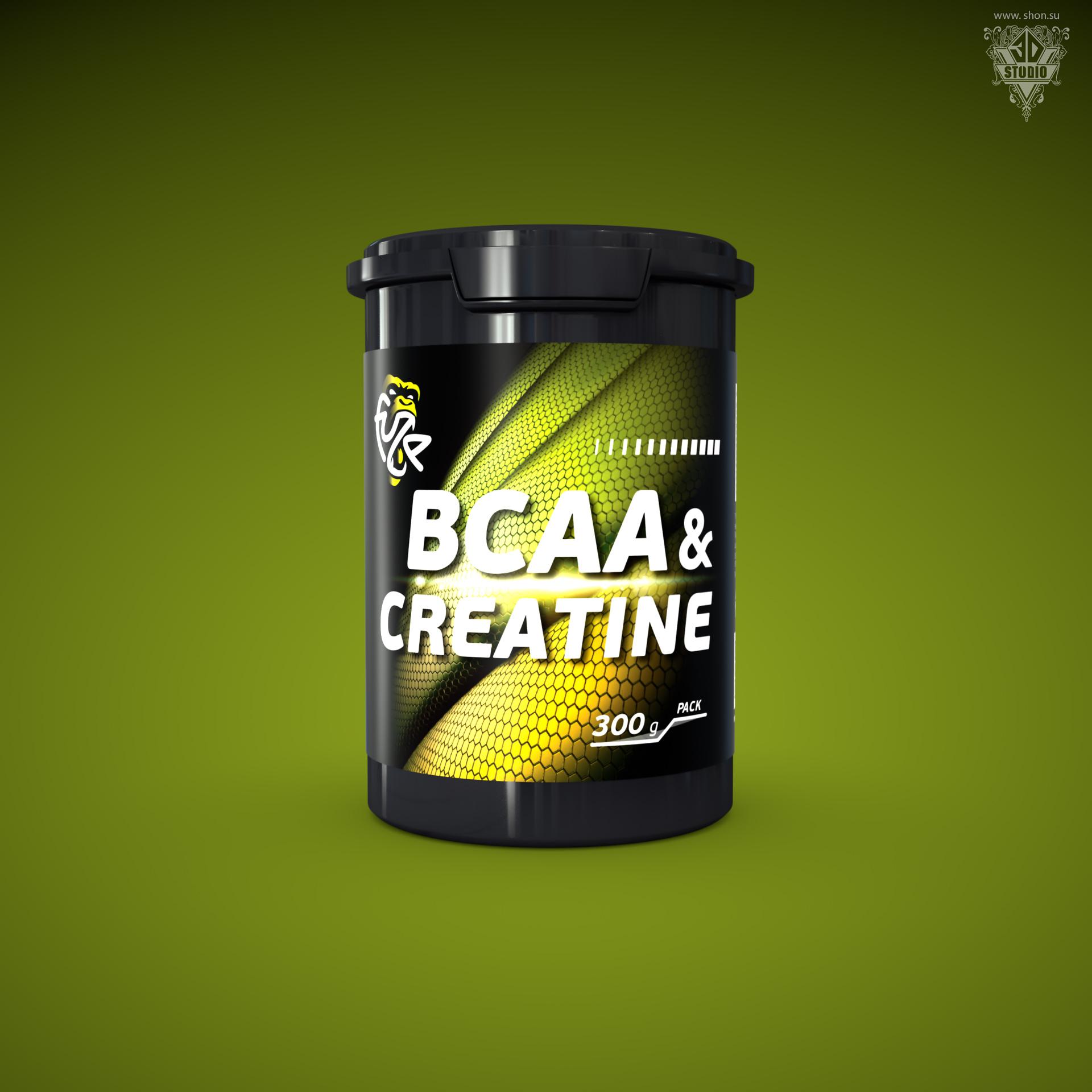 «4UZE BCCA&CREATINE»