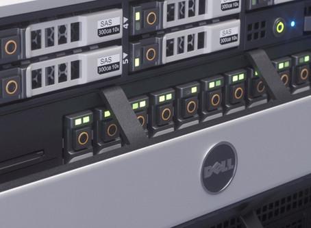 Сервера и хранилища «DELL» в 3D