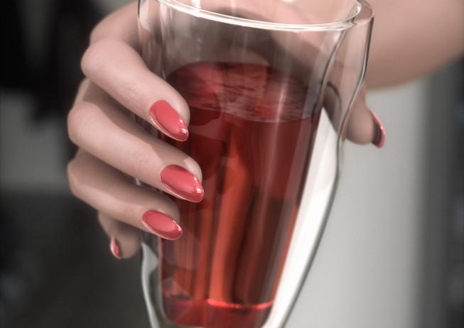 3D иллюстрация стакана CUP-X для рекламы