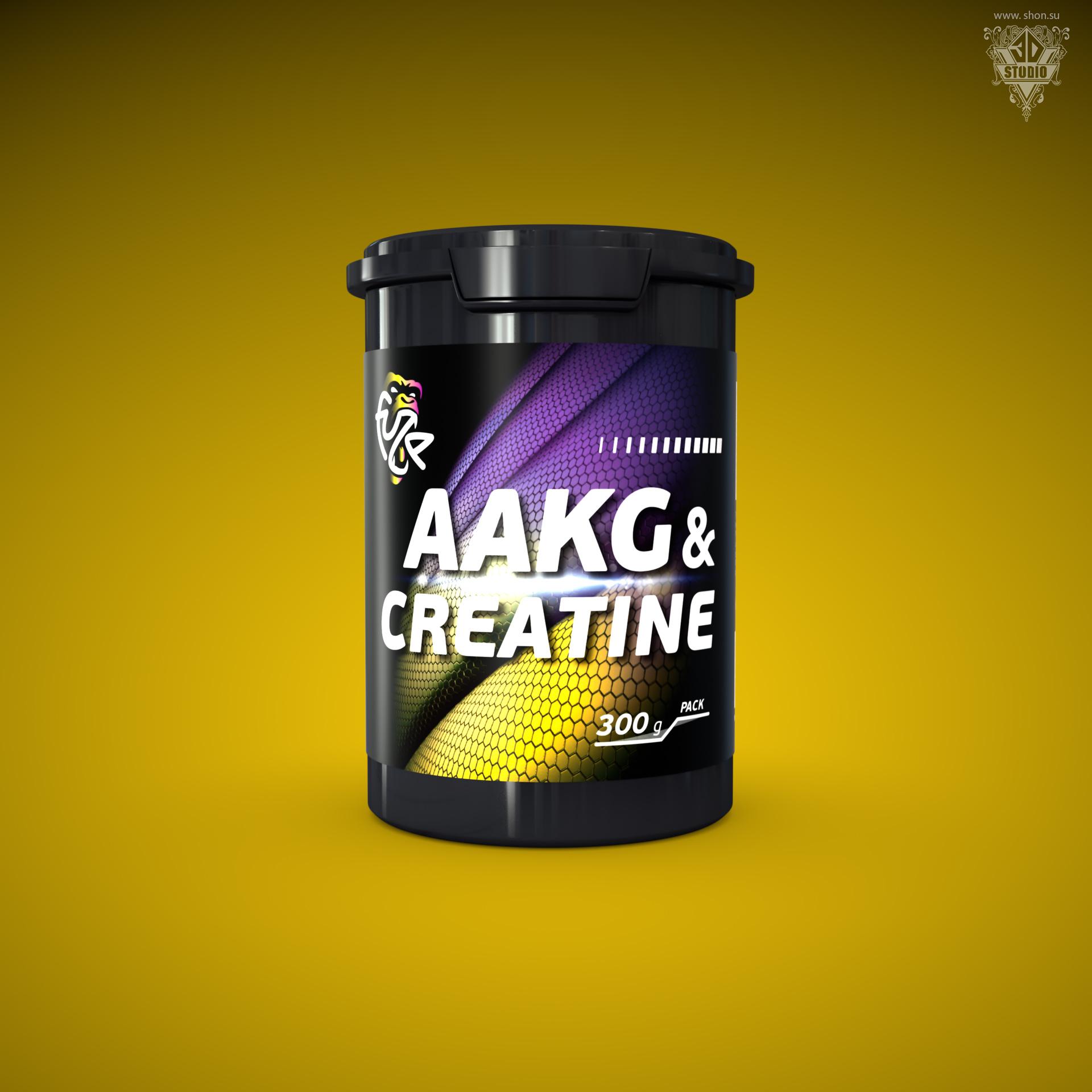 «4UZE AAKG&CREATINE»