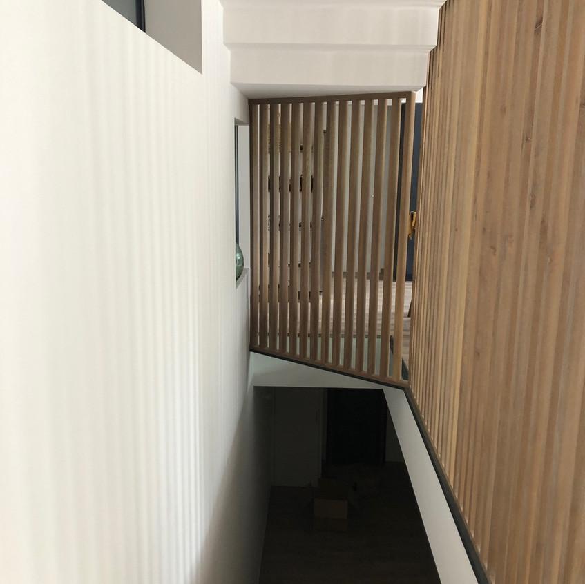 Décoration bois _ Escalier