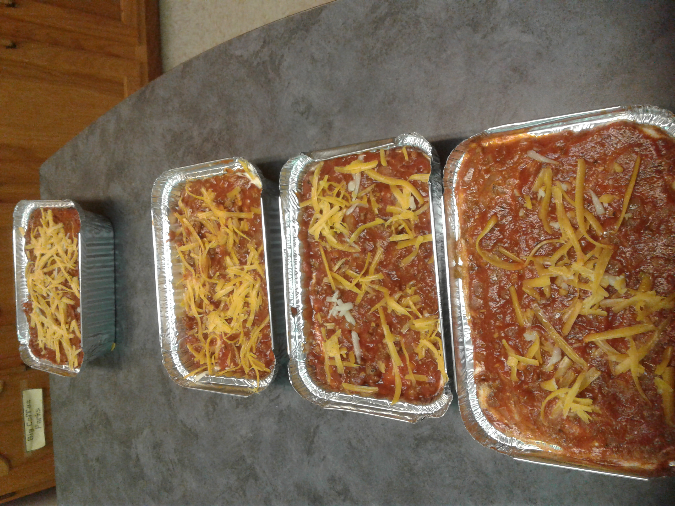 finished product lasagna